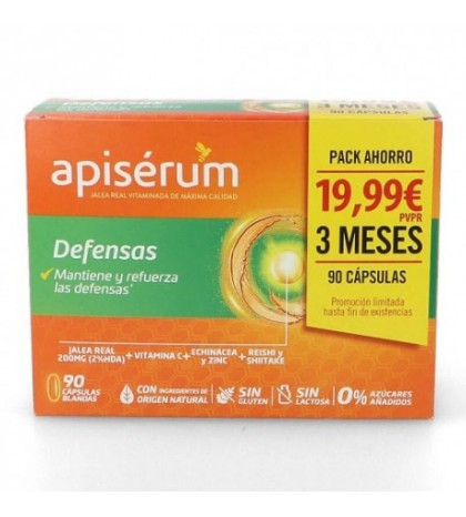 Apiserum Defensas 20 viales