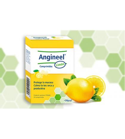 Heel Angineel Limón 24 comprimidos para calmar la tos seca y productiva