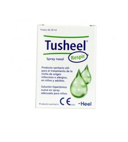 Heel Tusheel respir spray nasal para rinitis en niños y adultos