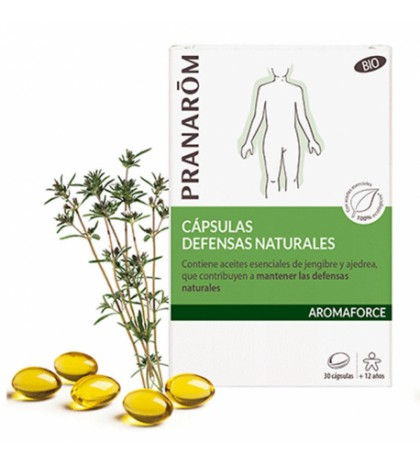 Pranarom Oleocaps N4 defensas naturales 30 caps