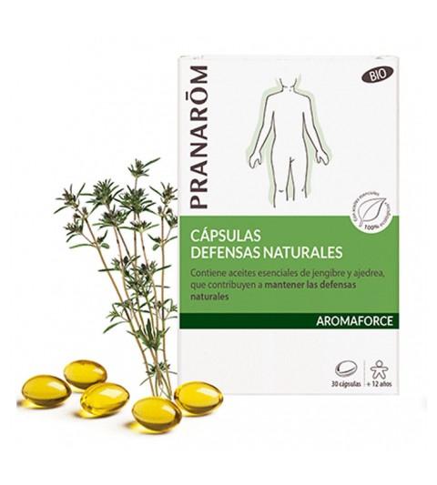 Pranarom Oleocaps N4 defensas naturales 30 caps