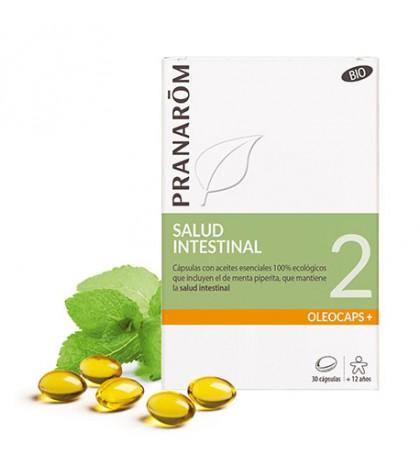 Pranarom Oleocaps 2 salud intestinal 30 cápsulas aceites esenciales