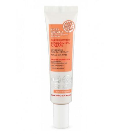 Natura Siberica BB Cream correctora certificada para todo tipo de piel 30ml