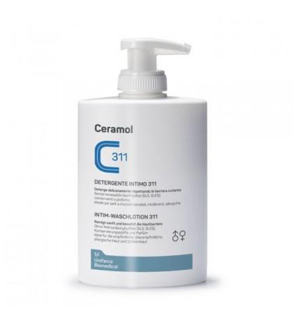 Farmaplaya Ceramol Gel Íntimo 250ml gel higiene íntima para reestablecer la barrera cutánea