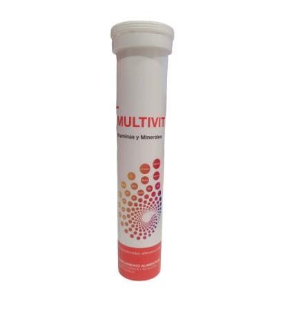 Farmaplaya Multivit Vitaminas y minerales 20 comprimidos efervescentes