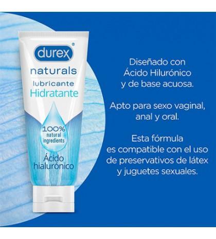 Durex Naturals Lubricante Hidratante con hialurónico 100 ml