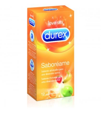 Durex Saboreame preservativos sabores 12 unidades