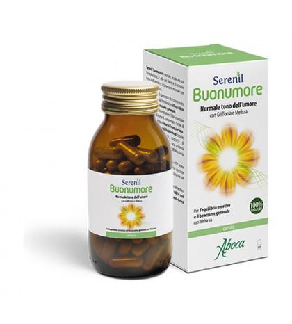 Aboca Serenil Buonumore Buen Humor 100 cápsulas para mejorar el estado de ánimo y el bienestar mental