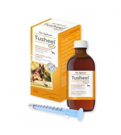 Tusheel Vet 150ml jarabe para calmar y suavizar la garganta de los perros