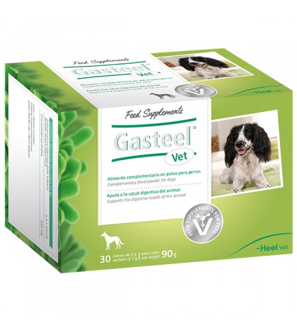 Heel Gasteel Vet para la salud digestiva del animal 30 sobres