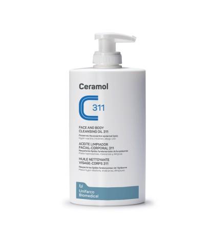 Farmaplaya Ceramol 311 Aceite Limpiador facial corporal 400ml