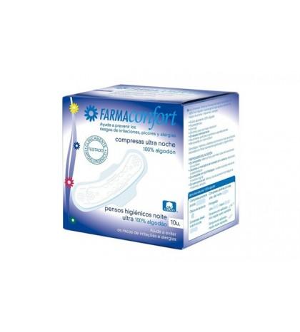 Farmaconfort Compresas Ultrafinas Noche 10ud