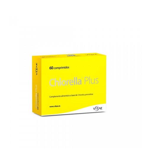 Vitae Chlorella Plus 60comprimidos detoxificar metales pesados sistema digestivo