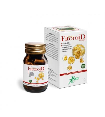Aboca Neofitoroid 50 cápsulas para hemorroides y problemas circulatorios