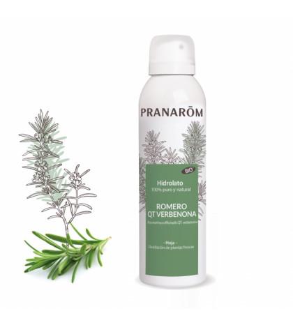 Pranarom Hidrolato Romero qt Verbenona 100% puro y natural 150ml para piel y cabello grasos