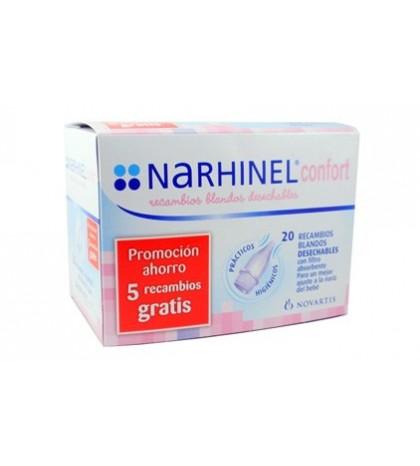 Narhinel Confort Recambios Blandos 15+5 gratis