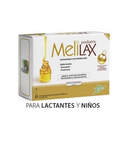 Aboca Melilax 6 microenemas pediatrico 5g