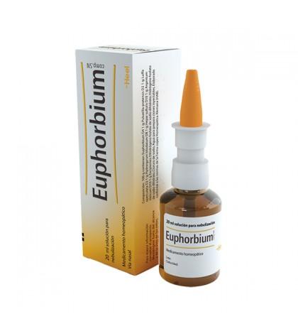 Heel Euphorbium compositum gotas nasales nebulizador 20ml