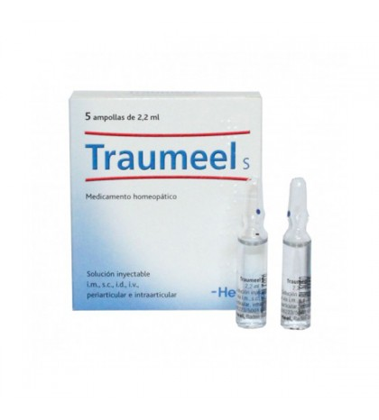 Heel Traumeel S solución inyectable 5 amp. 2,2ml