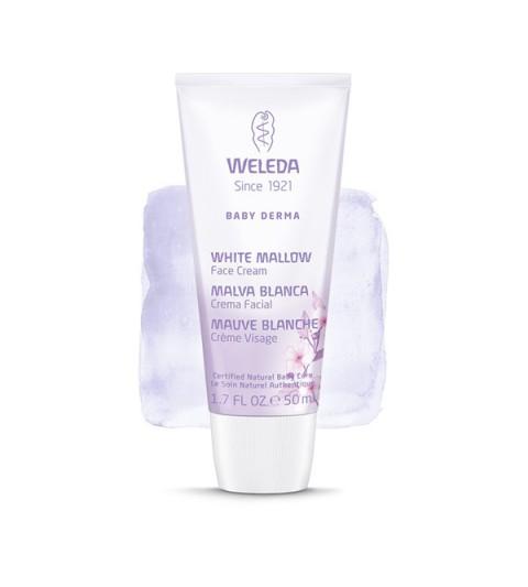 Weleda Crema facial malva Blanca 50ml