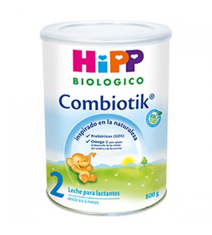 Hipp Combiotik 2 leche biológica continuación 800g