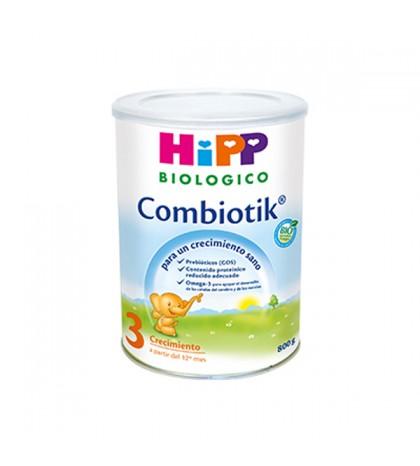 Hipp Combiotik 3 leche biológica crecimiento 800g