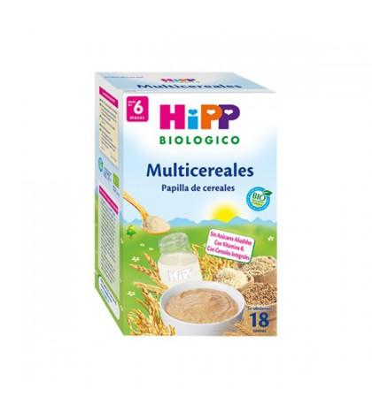 Hipp papilla de cereal biológica Multicereales 400g