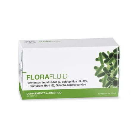 Simbiótico líquido para la salud de la flora intestinal
