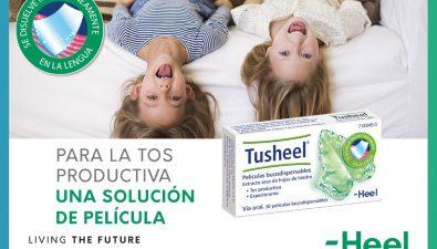 Tusheel, láminas para la tos con mucosidad muy fáciles de tomar