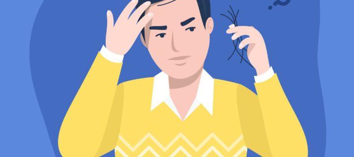 Caída del cabello: ¿Por qué se me cae el pelo?